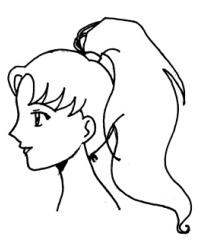 Haare zeichnen zopf