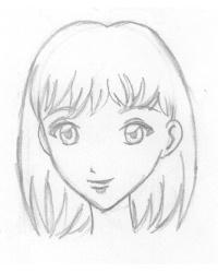 kopf und gesicht zeichnen lernen frisuren zeichnen haare
